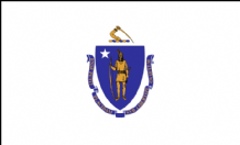 MASSACHUSETTS - 5 X 3 FLAG